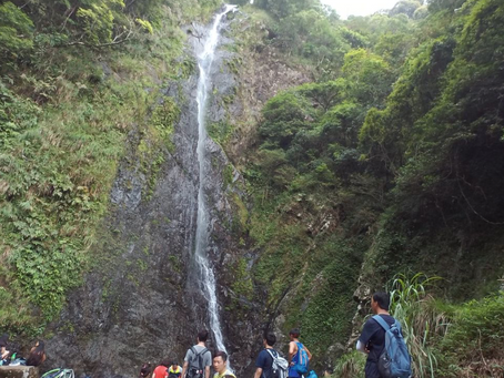 The highest waterfall in Hong Kong - Ng Tung Chai Waterfall