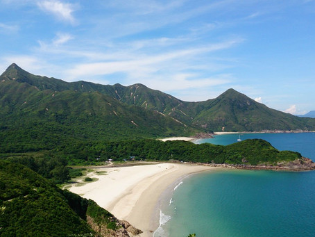 Most beautiful beaches in Hong Kong - Tai Long Wan Beach