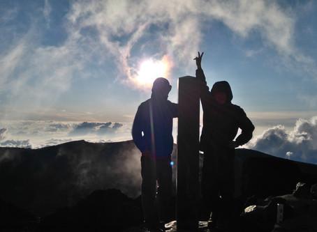 Mt. Fuji climb Day 2 (Japan Tokyo)