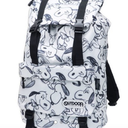 [OUTDOOR PRODUCTS]  Snoopy OUTDOOR flap backpack 史努比 背囊