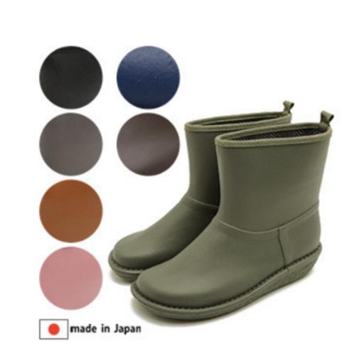 short-length rain boots made in Japan 日本製 短雨靴  橡膠靴 防水 女款