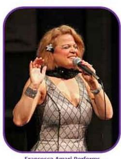 Francesca sings volare