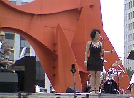 Francesca at Festival 2009