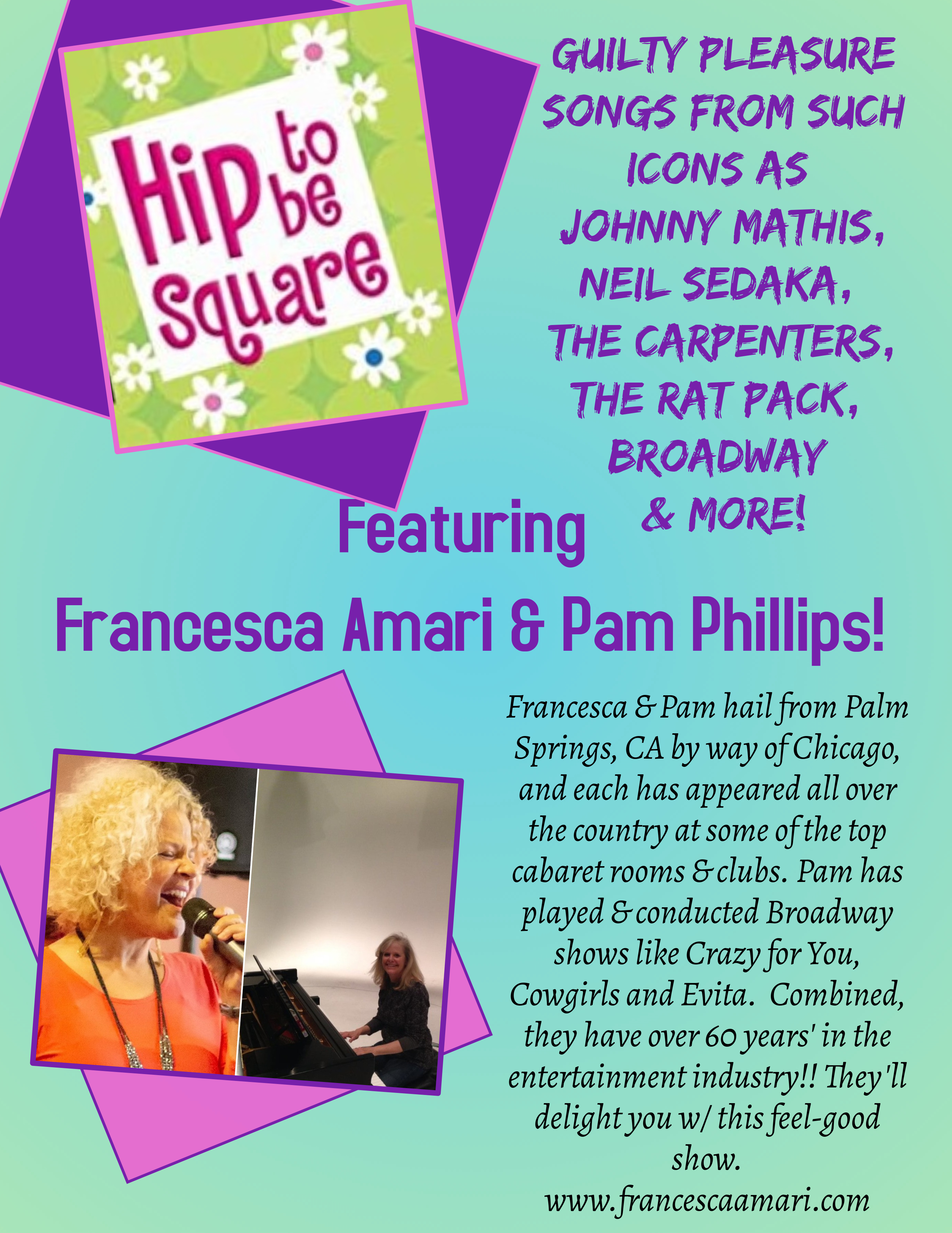Hip to Be Square Pam HI RES