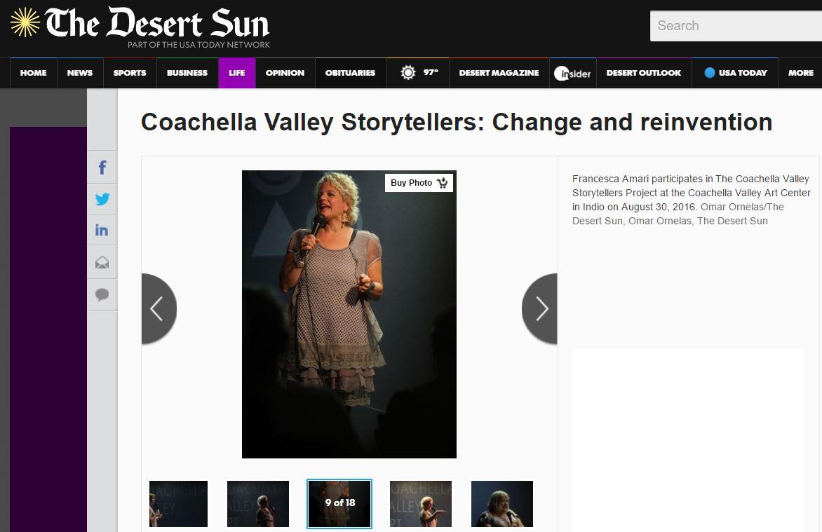 Coachella Valley Storytellers