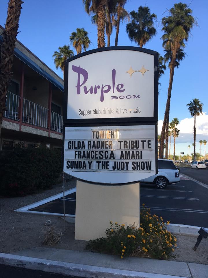 Purple Room Marquis