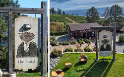 Hatch Winery Signage