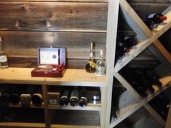 Wine Room Interior