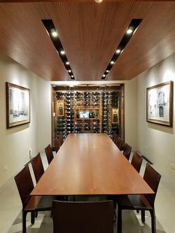 Wine Showcase in meeting room