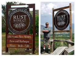 Rust signs