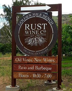 Rust Winery Signage