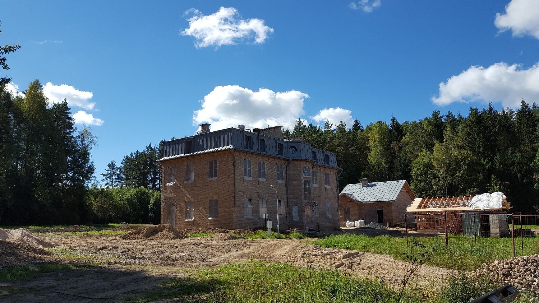 Строительство особняка 500 кв.м.