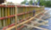 Уплотнение бетона навесными вибраторами