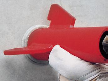 Выравнивание конуса с помощью втулки