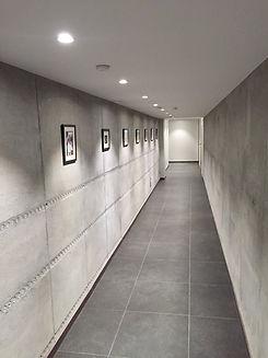 Архитектурный бетон в интерьере загородного дома