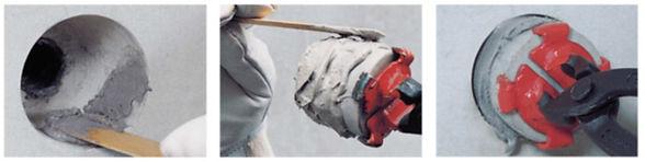 Монтаж бетонных конусов