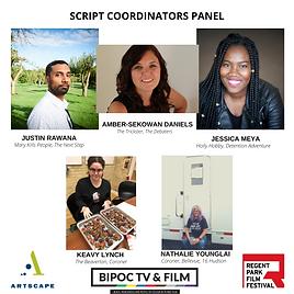 BIPOC Script Coordinators Panel Jan 2020