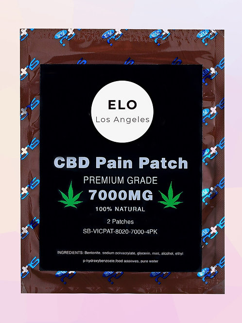 CBD Pain Relief Patches 7000MG