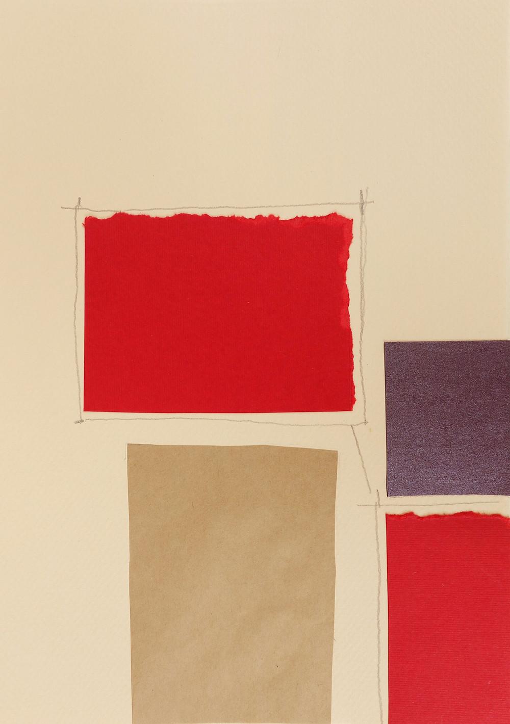 Collage de papel ilustraciones
