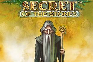 secret of the stones logo netent net entertainment gamblers paradise online slots review