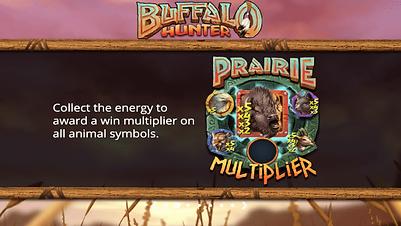 buffalo hunter prairie multiplier bonus feature nolimit city