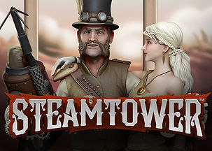steam tower logo netent net entertainment gamblers paradise online slots review