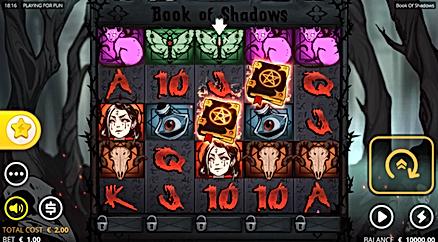book of shadows shadow rows nolimit city