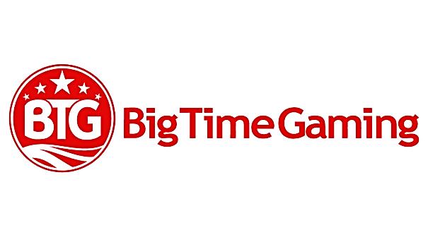 big time gaming btg logo gamblers paradise slot provider