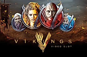vikings logo netent net entertainment gamblers paradise online slots review
