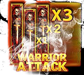 warrior attack warrior graveyard nolimit city