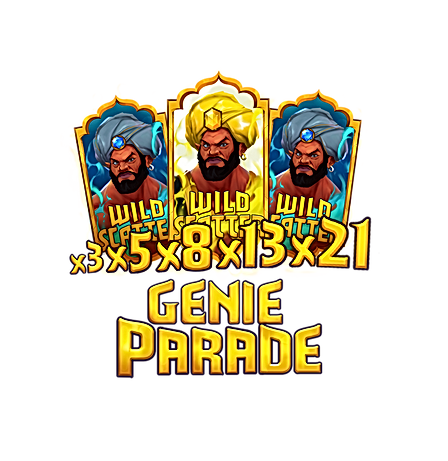 golden genie genie parade bonus feature walking wilds nolimit city