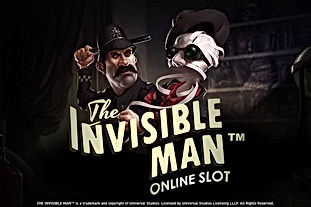 the invisible man logo netent net entertainment gamblers paradise online slots review