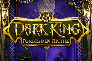 dark king forbidden riches logo netent net entertainment gamblers paradise online slots review