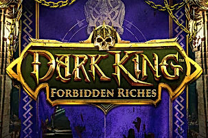 dark king forbidden riches logo netent net entertainment gamblers paradise online slots review