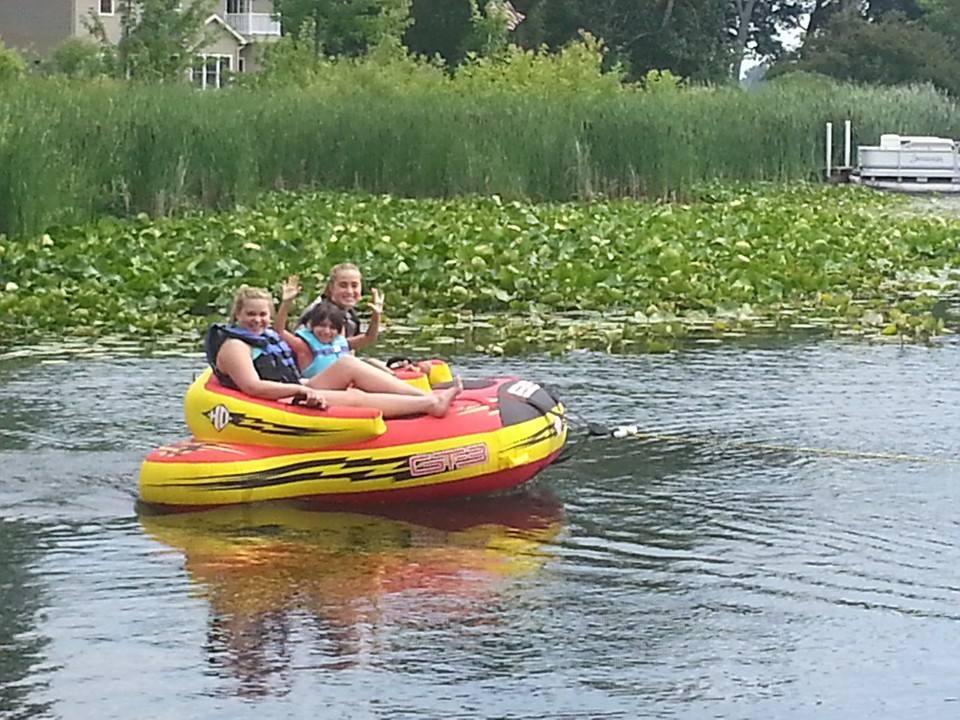 Adam's Lake Fun!
