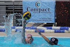 water polo goal - τερμα υδατοσφαιρισης - compact