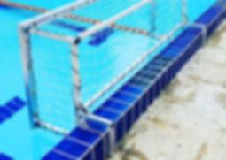 τερματα υδατοσφαιρισης compact ειδικες κατασκευες custom compact goals water polo