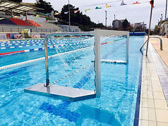 water polo goal - τερμα υδατοσφαιρισης - compact - compact goals