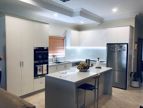 Family First Electrical - LED Strip Lighting in kitchen under cupboard in Five Dock