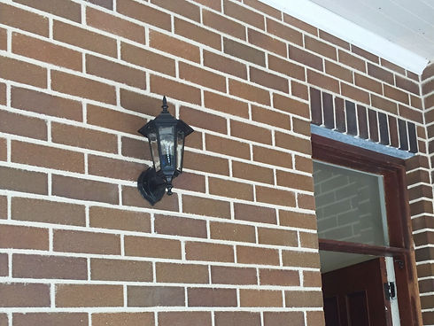 Family First Electrical - Coach light installation in Haberfield