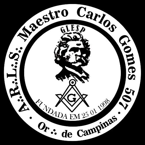LOGO MAESTRO CARLOS GOMES - POR CLAYTON