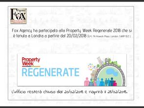 Regenerate Property Week 2018 - London