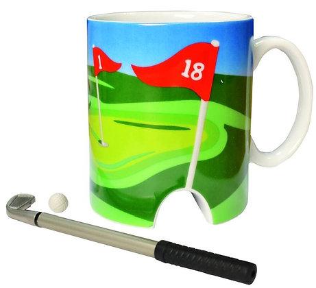 Golf Mug And Mini Putter