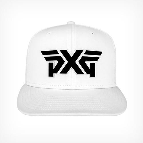 5163d63c7a3dd PXG 3D Adjustable Cap - White