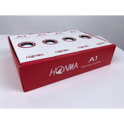 Honma A1 Golf Balls - White (Dozen)