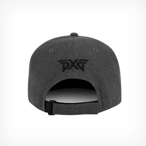 522300fedf06e The PXG 3D Adjustable Cap by New Era is the perfect blend of style and  comfort. This soft acrylic wool blend grey cap has a 3D PXG logo and a  Velcro ...