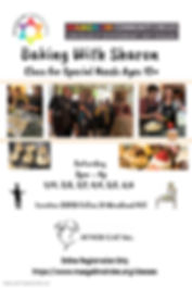 Baking class with Sharon Jan - Jun 2020