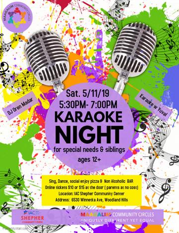Karaoke Night Flyer - May 11 2019 RW.jpg