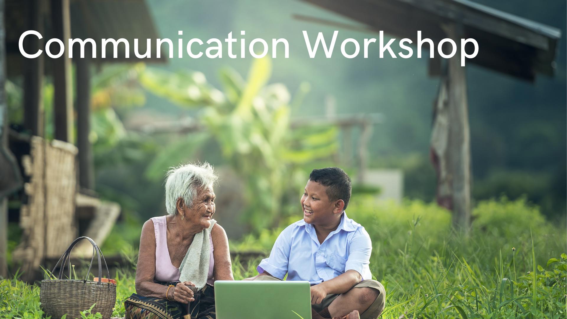 Communication 5 day Workshop