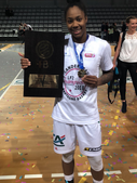 ASia Logan wins France Championship & MVP